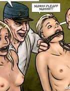 Three babes get trapped in the forest for sexual slavery. Breeders: New