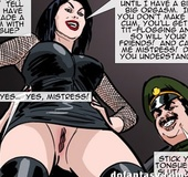 Tied up lass will be owned by a militant man. Prison Horror Story 5 by