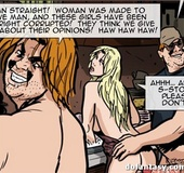 Preacher man gets in the middle of hot kitchen orgy. The Hotties Next