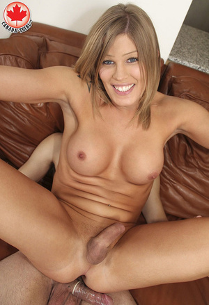 Little blonde tranny gets her silky ass  - XXX Dessert - Picture 15
