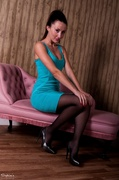dress, individual model, pantyhose