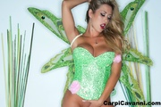 party babe green corset