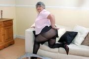 horny hot granny wearing