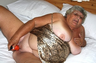 horny granny expose huge
