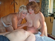 redhead cougar and blonde