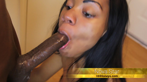 Stunning black chick with hot banging bo - XXX Dessert - Picture 2