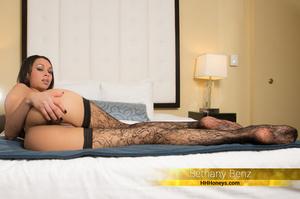 Smoking hot babe displays her indulging  - XXX Dessert - Picture 1