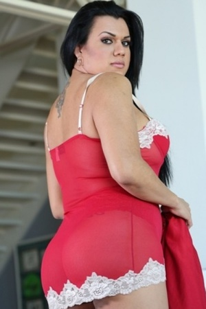 Hot trannies display their sexy curves i - XXX Dessert - Picture 2