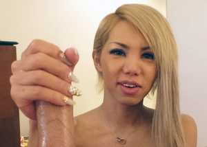 Sexy trannies loves to grab big dicks th - XXX Dessert - Picture 1