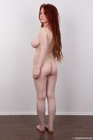 Enthralling redhead miss in a black top  - XXX Dessert - Picture 17