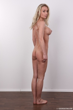 Elegant girlie in a grey top, black pant - XXX Dessert - Picture 17