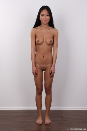 Enticing Asian skank on a stool covers h - XXX Dessert - Picture 14