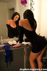 glamorous gal black dress