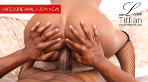 Gorgeous ebony with luscious body gets fucked in the ass and gets creamed with warm spunks. - XXXonXXX - Pic 2