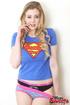 yummy floozy blue superman