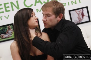 Cute shaved teen stripped naked for a ro - XXX Dessert - Picture 9