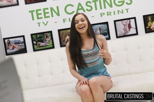 Precious teen face fucked in ropes durin - XXX Dessert - Picture 1