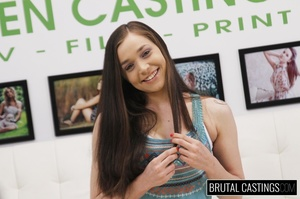 Precious teen face fucked in ropes durin - XXX Dessert - Picture 2