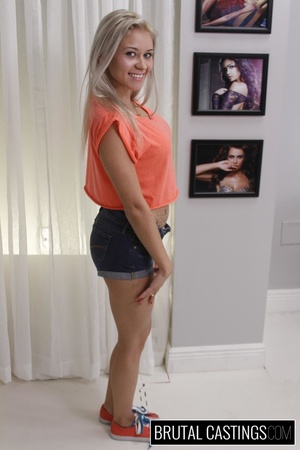 Naive blonde teen's casting domination a - XXX Dessert - Picture 2