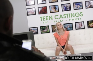 Naive blonde teen's casting domination a - XXX Dessert - Picture 8
