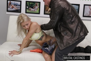 Naive blonde teen's casting domination a - XXX Dessert - Picture 10