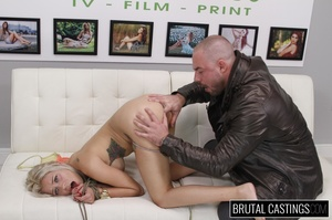 Naive blonde teen's casting domination a - XXX Dessert - Picture 12