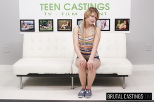 Blonde cutie pie's casting turns into ro - XXX Dessert - Picture 1