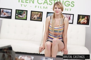 Blonde cutie pie's casting turns into ro - XXX Dessert - Picture 2