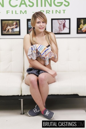 Blonde cutie pie's casting turns into ro - XXX Dessert - Picture 16