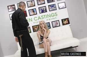 Smelting hot blonde endures a rough fuck - Picture 7