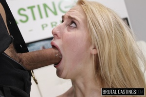 Smelting hot blonde endures a rough fuck - Picture 11