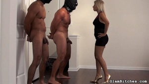 Chick uses her bodyguards for dirty sexu - XXX Dessert - Picture 10