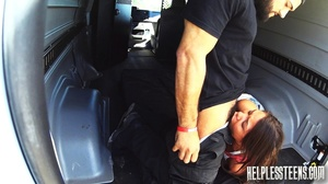 Tiny Latina unfortunate enough to ride w - XXX Dessert - Picture 6