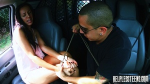 Brunette bound and fucked rough in the m - XXX Dessert - Picture 5