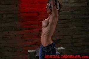 Gorgeous woman experiences rough sex for - XXX Dessert - Picture 2