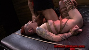 Exotic slut with lots of tattoos gets in - XXX Dessert - Picture 4