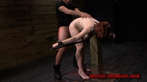 Cute redhead gets her mouth fucked in th - XXX Dessert - Picture 3