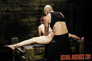 Stranger's dick gets inside of immobiliz - XXX Dessert - Picture 8