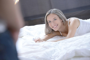 Pretty blonde lets her boyfriend take of - XXX Dessert - Picture 6