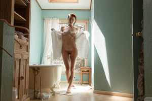 Luscious young blonde teases with her se - XXX Dessert - Picture 11