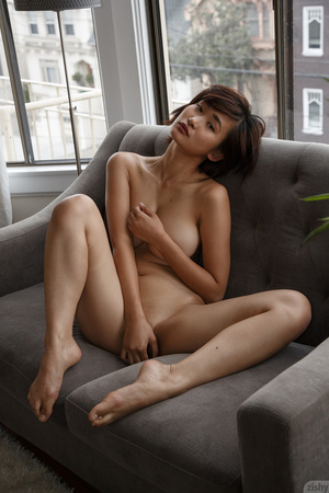 Smoking hot Asian chick with luscious bo - XXX Dessert - Picture 5