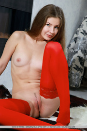 pretty minx red stockings