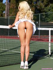 cute sporty blonde sexy