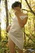 luscious babe alluring white