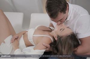 Brunette hottie lets her stud boyfriend  - XXX Dessert - Picture 9