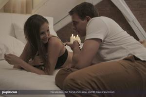 Brunette hottie lets her stud boyfriend  - XXX Dessert - Picture 10