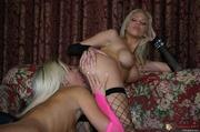 two smoking hot blonde