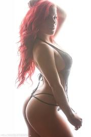 stunning hottie with seductive