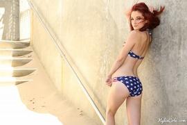 american, redhead, shorts, smoking