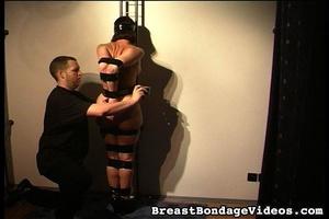 Leather bondage makes amateur victim loo - XXX Dessert - Picture 1